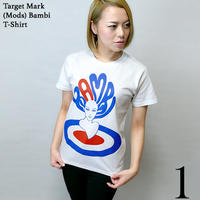 kn002tee - Target Mark (Mods) Bambi Tシャツ - KeikoNasu 那須慶子 -G-( ターゲット モッズ バンビ イラスト コラボ 半袖 )