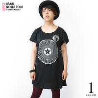 sp004opt - Bambi World Tour Tシャツワンピース -G- ワンピTシャツ ロックTシャツ バンドTシャツ ライブ 半袖