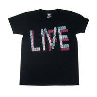 夏セール!! sp081tee-bk - LIVELIFE Tシャツ(ブラック) -G-( ロックTシャツ ライブ フェス バンドTシャツ )
