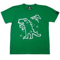 sp052tee - ティラノ Tシャツ -G- イラスト 半袖 メンズ レディースかわいい 恐竜 ティラノザウルス