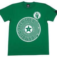 sp004tee-gr - Bambi World Tour Tシャツ (グリーン)-G- 半袖 大きいサイズ ROCK ロックTシャツ アメカジ かわいい 緑色