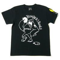 har003tee - 爆撃機 Tシャツ - HARIKEN -G- アメカジ ロック 怪獣 コラボ 半袖