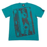 bk001tee - Demo Tape(デモテープ)Tシャツ (A.グリーン) - BPGT -G-