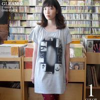 tgw023opt - Gleam 0(ゼロ) Tシャツワンピース -G- カジュアル グラフィック かわいい 半袖