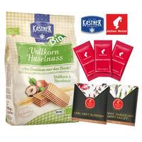 【Austriaギフト】Kastnerウエハース&Juius meinl インスタントコーヒー&紅茶