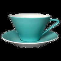 Lilien Austria  ティー・コーヒー兼用カップ&ソーサ―【Lasurblau】