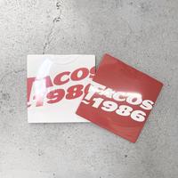 TACOS1986 / Logo S/S Tee