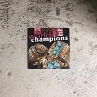 90's Vintage Chicago Bulls 3 Peat Champion S/S Tee