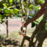 IN-PUT-OUT / Cherry Necklace K18 GP / Silver 925