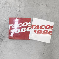 TACOS1986 / Logo L/S Tee