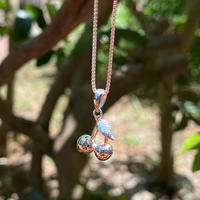 IN-PUT-OUT / Cherry Necklace Silver 925