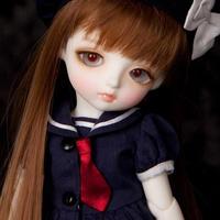 BJD 1/6 球体関節人形  26cmの女の子 フルセット