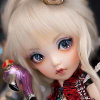 BJD 1/4 球体関節人形 美しい ヌード 目の表情2種