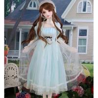 ドール用 衣装 1/3・1/4・1/6 BJD 人形 美しいブルーレースのドレス