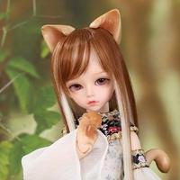 猫娘 メイク BJD 1/4 フルセット 40.5cm 猫娘ver.
