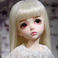 球体関節人形 美しい BJD 1/4 白の天使 34.5cm フルセット