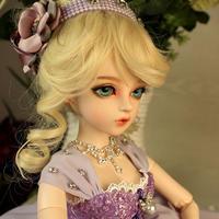美しい かわいい 球体 関節 人形 BJD 1/3 フルセット グラスアイ 60cm ブロンドヘアー