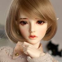 美しすぎる 球体関節人形 BJD 1/3 エルフ メイク有 ヌード 59㎝