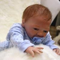 ドール かわいい赤ちゃん ソフトシリコン 少年 50cm