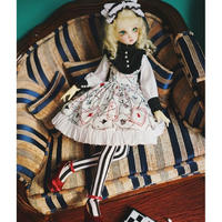 BJD コスチューム 1/3・1/4・1/6 人形用ドレス + ヘア装飾