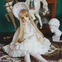 球体関節人形 1/3・1/4・1/6 人形用 ゴシックドレス 3点セット