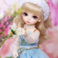 球体関節人形 可愛い BJD 1/6 小さな女の子 26 cm フルセット