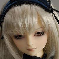 球体関節人形 BJD 1/3 メイク済 ゴシック衣装 フルセット