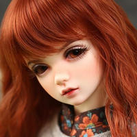 球体関節人形 美しい 海外の人形 BJD 1/4  45cm