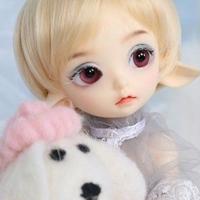 ドール かわいい  BJD 人形 1/7 フルセット 19cm