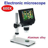 顕微鏡の倍率最大600倍 デジタル顕微鏡4.3インチHD液晶