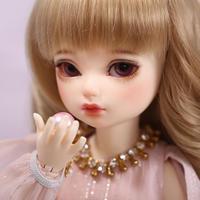 ドール かわいい BJD 1/6 巻き髪の女の子 26㎝ フルセット