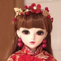 BJD 1/3 球体関節人形 60cm 民族衣装 フルセット
