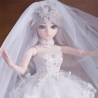 bjd 人形 1/3 (60cm) ウエディングドレス  セット