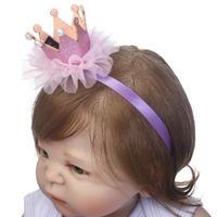 ドール 女の赤ちゃん 柔らかいシリコン 56cm 選べる目の色
