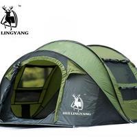 テント たたみ方 ポップアップ式 3-4人用 HUI Lingyang