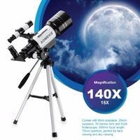 惑星の観察に AOMEKIE F30070M 天体望遠鏡 三脚付き 単眼