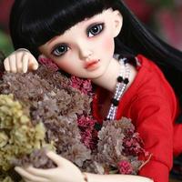 球体関節人形 美しい BJD 1/4 リカちゃん風 フルセット