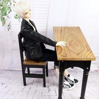 ドールチェア 1/3 人気 木材椅子&デスク 1/3~1/4用