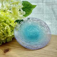 お皿 紫陽花