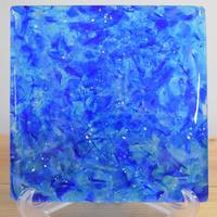 琉球ガラスタイル 20cm角