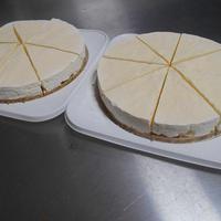 レアチーズケーキ・2台セット