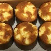 クリームチーズ大豆粉マフィン