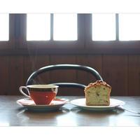喫茶フリーダ: 選べるパウンド「ノンカフェインのルイボスチャイと焼き菓子」