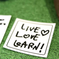LittleWarriors:『LIVE LOVE LEARN』 STICKER