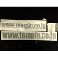 TEMPLE address 切抜きsticker