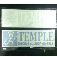 TEMPLE 切抜きステッカー BIG 40サイズ