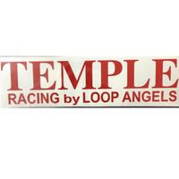 TEMPLE LOOP ANGELS切り抜き反射ステッカー