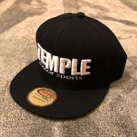TEMPLE B.B刺繍ロゴキャップ  《数量限定》