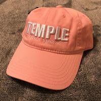 TEMPLE team logo Round Cap Pink《数量限定》