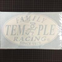 RACING FAMILY ラウンド切り抜き大判ステッカー